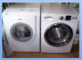bosch washer dryer. Bosch Front Load Washer And Electric Dryer