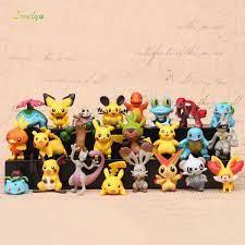Bộ sưu tập 24 mô hình Pokemon Pikachu 100% chất liệu ABS chất lượng cao giá  cạnh tranh
