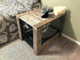 pallet crate furniture. Wood Crate Furniture Luxury Dog Crates Kennel End Table Plans Unique Best Of . Pallet S