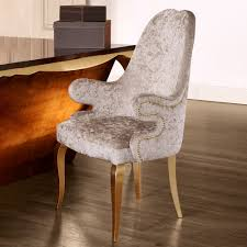 high end upholstered furniture. High End Italian Upholstered Carver Chair Furniture