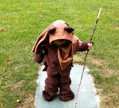 diy ewok costume galleryhipcom the hippest pics
