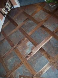 wood and tile floor designs. Brilliant Wood A Custom Tile U0026 Wood Mixed Floor Good Idea For Transitioning From A  Floor To In Any Home For Wood And Tile Floor Designs O