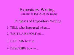 expository writing in a cooking world this is a worthwhile exposition
