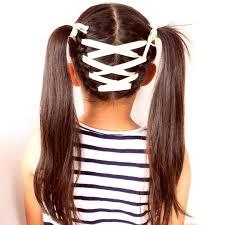 花のち晴れあいりちゃんヘア再現編み込みリボンのツインテールヘア