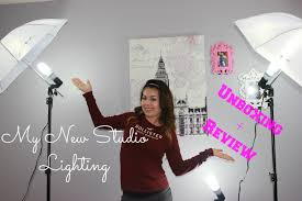 my new lighting kit unboxing small review