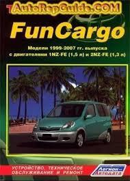 Download free - TOYOTA FunCARGO (1999-2007) repair manual: Image ...