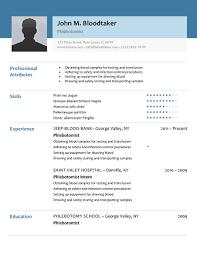 Phlebotomy Resume Adorable Phlebotomy Resume No Experience Canreklonecco