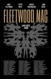 Fleetwood Mac Sprint Center Seating Chart Fleetwood Mac 2013 Tour Poster Music Anybody To Do With