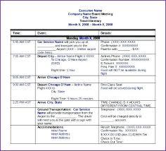 Business Trip Agenda Template Travel Agenda Template Business Trip Diary Itinerary Mac