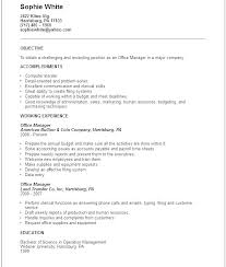 Medical Sales Resume Perfect Objective Examples For Best Device