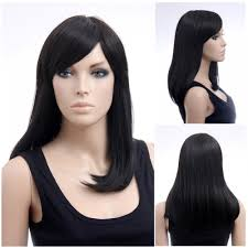 Japanese Straight Hair Style asian womans wig dark long straight japanese fashion hairstyle 7581 by stevesalt.us