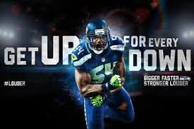 Small Picture Seattle Seahawks Bobby Wagner Poster 24x36 Banner Wall Art Home