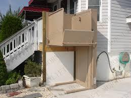Exterior Wheelchair Platform Lift Built By GlickmanDesignBuildcom - Exterior wheelchair lifts