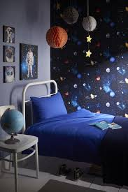 Product Name: Cosmos Space Themed Room Concept - Teenage Boys Bedroom  Wallpaper Wall Art Decor