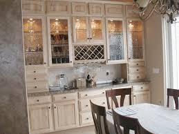 antique glass kitchen cabinets
