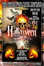 25 High Quality Halloween Psd Flyer Templates