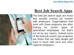best job search apps the best job search apps are those that actually connect job