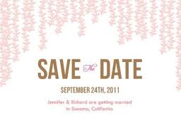 save the date template free download diy wedding save the date email how to e m papers