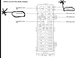 i have a 2004 mercury sable ls, 3 0l dohc occasionally when i 2000 mercury sable fuse box location at 2002 Sable Fuse And Relay Diagram