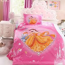 image of disney princess bed set
