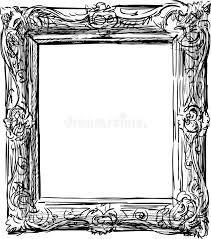 antique picture frames vector. Download Antique Frame Stock Photo. Image Of Framework, Sketch - 32817848 Picture Frames Vector