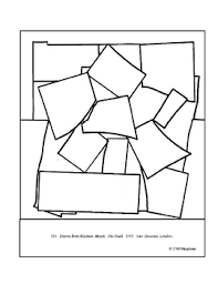 Matisse Henri The Snail Coloring Page And Lesson Plan Ideas