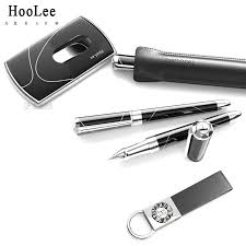 hoolee premier business gift set card holder keychain pen suit upscale corporate gifts in ballpoint pens from office supplies on aliexpress