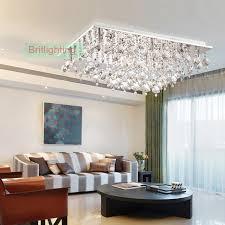 modern ceiling lamps. Crystal Flush Mount Ceiling Lamps Bedroom Light Modern Led Lights Rectangle