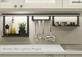 kitchen rail lighting. Kitchen Rail Lighting. Luminous Utensil Lighting E