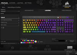 Lighting Cue Software The Corsair Utility Engine Cue Software The Corsair