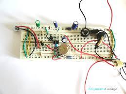 hearing aid audio amplifier circuit diagram hearing