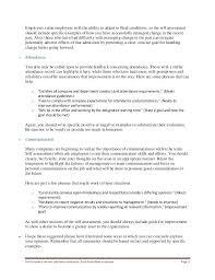 Employee Self Assessment Examples Performance Appraisal Sample
