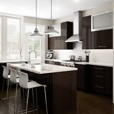 White Cabinets With Dark Brown Backsplash StormupNet - Dark brown kitchen cabinets