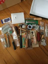 brand new leather tooling kit