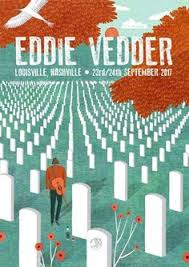 ed vedder poster by r