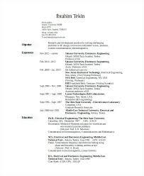 Electronics Engineer Resume Sample Administrativelawjudge Info