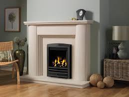 artisan faro limestone fireplace