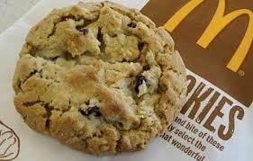 8 mcdonald s healthy choices oatmeal raisin cookie fastfoodmenus