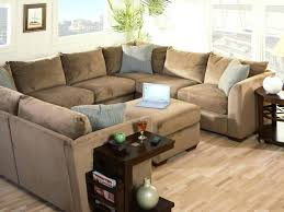 Square Couches Large Beautiful Sofa Sets Fabric Big Design Living Room  Decorations Wooden Stained Varnished Cotton ...