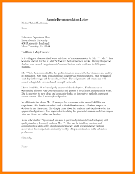 Recommendation Letter Sample For Graduate Student Choice Image