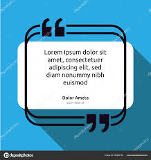 Remark Quote Text Box Poster Template Concept Blank Empty Frame