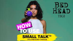 How To Use: Small Talk - Volumising Spray   <b>Bed Head</b> By <b>TIGI</b> ...