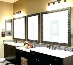 framing a bathroom wooden frame bathroom mirror framing bathroom mirror