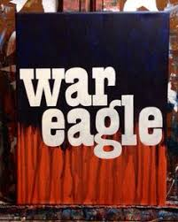 auburn university painting with mascot and saying war eagle by salinasjessica 20 00 on etsy http www etsy listing 92295949 auburn univer  on auburn tigers wall art with auburn university painting with mascot and saying war eagle by