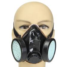 anti dust gas spray paint dual respirator industrial chemical mask