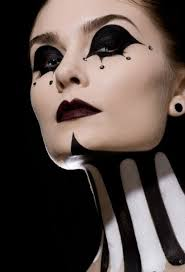 makeup ideas 2016 witch makeup and costume black white makeup