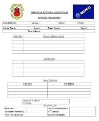 Soccer Score Sheets Soccerfootball Info