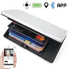 Details About Bluetooth Finder Credit Card Holder Men Metal Anti Lost Wallet Alarm Tracker