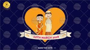 marathi wedding invitation video