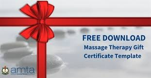 american template free massage therapy gift certificate template american massage